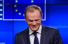 """Paaiškėjo, kada vyks ES viršūnių susitikimas dėl """"Brexit"""""""