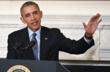 B. Obama ėmėsi lektoriaus veiklos: už kalbą – 400 tūkst. dolerių