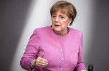 A. Merkel žada atsikovoti kraštutinių kairiųjų rinkėjų simpatijas