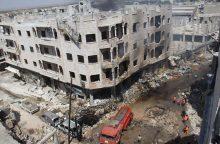 """Sirijoje nukauta per 100 """"al Qaeda"""" teroristų"""