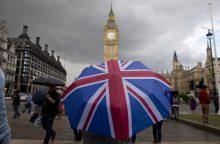 """Kurį iš penkių """"Brexit"""" scenarijų pasirinks britai?"""