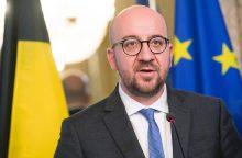 Belgijos premjeras sako negalįs pasirašyti ES ir Kanados prekybos sutarties