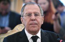 S. Lavrovas: nepripažintų vyriausybių išduoti dokumentai gali būti pripažįstami