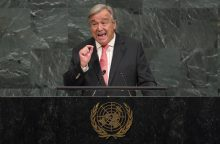 JT vadovas: pasaulis bijo branduolinio karo su Šiaurės Korėja
