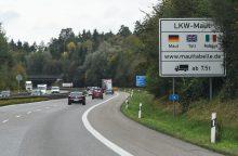 Čekijos vairuotojas gavo kompensaciją už važiavimą Vokietijos keliais