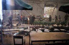 Indonezijos vertybinių popierių biržoje įgriuvus grindims sužeisti 75 žmonės