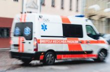 Klaipėdos rajone per avariją nukentėjo tėvas ir dukra