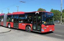 Sostinėje keičiami viešojo transporto tvarkaraščiai