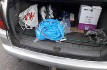 Kauniečio bagažinėje – beveik keturi kilogramai amfetamino