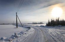 Lietuvoje elektros rinka atlaikė žiemos šaltį