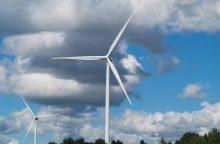"""""""Fortum"""" nori įsigyti vėjo parką Mažeikių rajone"""