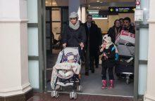 Pirmieji į Lietuvą perkelti pabėgėliai keliasi į Vilnių