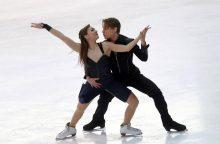 Čiuožėjų debiutai – ant Milano ledo
