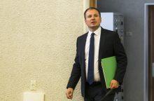 """G. Surplys apie nutekintą informaciją: """"raganų medžioklės"""" ministerijoje nebus"""
