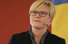 I. Šimonytė skelbia savo rinkimų programą