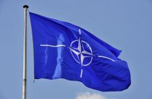 NATO patvirtina apie du rusų karo laivus, įplaukusius į Baltijos jūrą