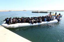 Italija su Afrikos šalimis susitarė dėl migrantų srauto