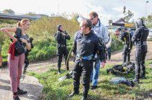 Danės švarinimo akcijos radiniai: prireikė net policijos