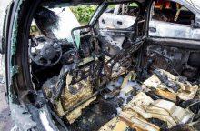 Dešimt automobilius deginusių marijampoliečių nuteisti už teroro aktą