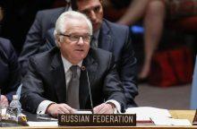Mirė Rusijos pasiuntinys JT V. Čiurkinas