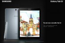 """Samsung"" pristatė savo naująją  planšetę ""Galaxy Tab S3"""