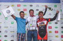 Dviračių maratonų taurės etapą laimėjo S. Latožaitė ir E. Gudiškis