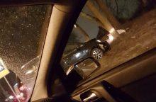 "Kaune automobilis ""Volkswagen Touran"" rėžėsi į medį"