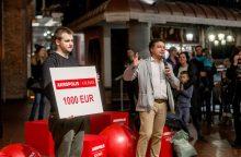 Po valandos kamuolio laikymo – 1000 eurų kauniečio kišenėje