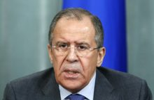 S. Lavrovas: JAV sprendimas nutraukti susitarimą su Rusija dėl Sirijos - klaida