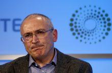 Rusija uždraudė su M. Chodorkovskiu siejamas nevyriausybines organizacijas