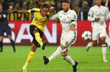 """UEFA Čempionų lyga: intriguojančioje """"Borussia"""" ir """"Real"""" dvikovoje – lygiosios"""