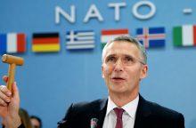 J. Stoltenbergas: ES ir NATO bendradarbiavimas – puikus būdas išsaugoti ryšius su JAV