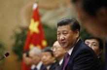 Kinijos prezidentas Xi Jinpingas ragina pasaulį atsisakyti branduolinio ginklo