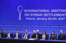 Rusija: Sirijos sukilėliams perduotas naujos Sirijos konstitucijos projektas