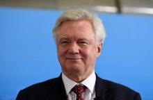"Britanijos ministras neigia norįs suskaldyti ES dar iki ""Brexit"" derybų"