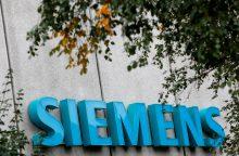 """""""Siemens"""" sustabdė įrangos tiekimą Rusijos valstybės kontroliuojamoms įmonėms"""