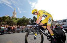 """Tour de France"" lenktynėse – C. Froome'o triumfas"