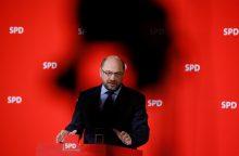 Vokietijos socialdemokratai pradės parengiamąsias derybas su A. Merkel