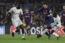 Rekordus gerinęs L. Messi atvedė Barselonos klubą į Čempionų lygos ketvirtfinalį