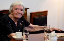 Mirė Rusijos žmogaus teisių aktyvistė L. Aleksejeva