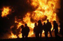 Cerkvės Rusijos Karelijoje padegimu įtariamas paauglys satanistas