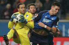 """""""Bundesliga"""" 14-asis turas prasidėjo lygiosiomis"""