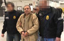 Liūdnai pagarsėjęs Meksikos narkomafijos bosas El Chapo išduotas JAV