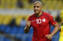Afrikos čempionatas tęsis be geriausio žemyno futbolininko ir Alžyro rinktinės
