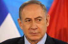 Izraelio policija išplėtė premjero atžvilgiu vykdomą tyrimą