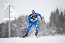 Pasaulio slidinėjimo čempionate lietuviai neįveikė kvalifikacinio barjero