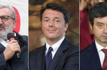 M. Renzi prognozuojama pergalė Demokratų partijos lyderio rinkimuose