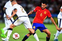 Euro U-21 finale – Ispanijos ir Vokietijos futbolininkai