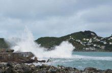 Potvynių niokojamoje Naujojoje Zelandijoje vėl laukiama liūties