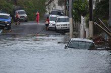 """D. Trumpas: uraganas """"Maria"""" sunaikino Puerto Riką"""